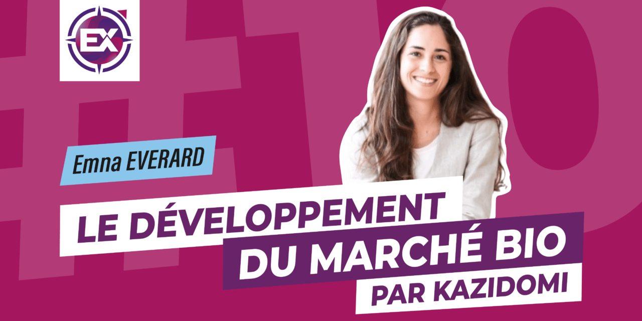 developpement marche bio kazidomi image podcast