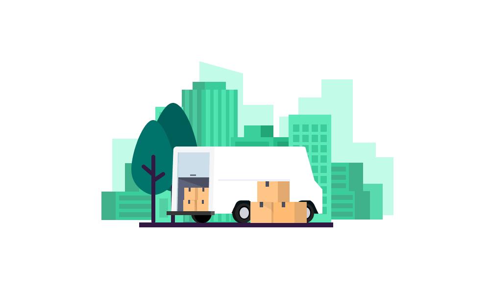 dropshipping avantages inconvenients image camion carton livraison