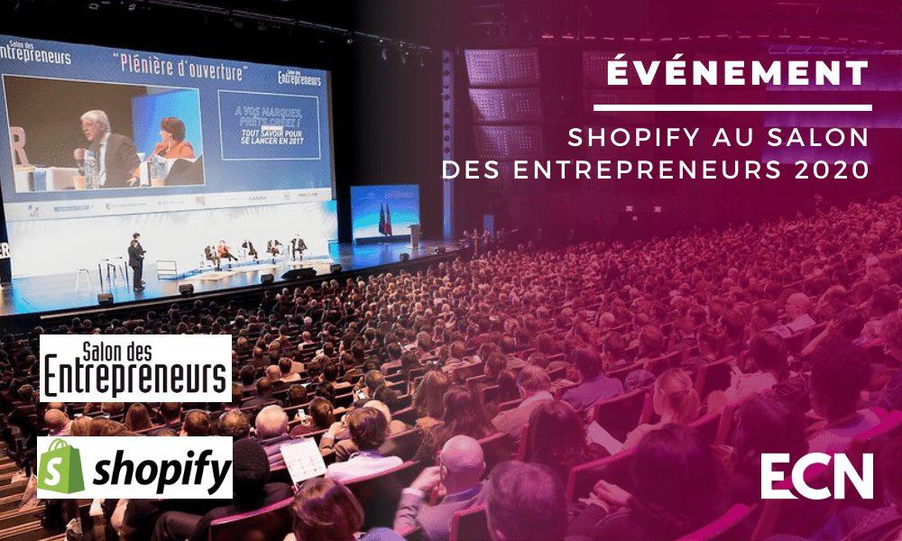 shopify au salon des entrepreneurs 2020