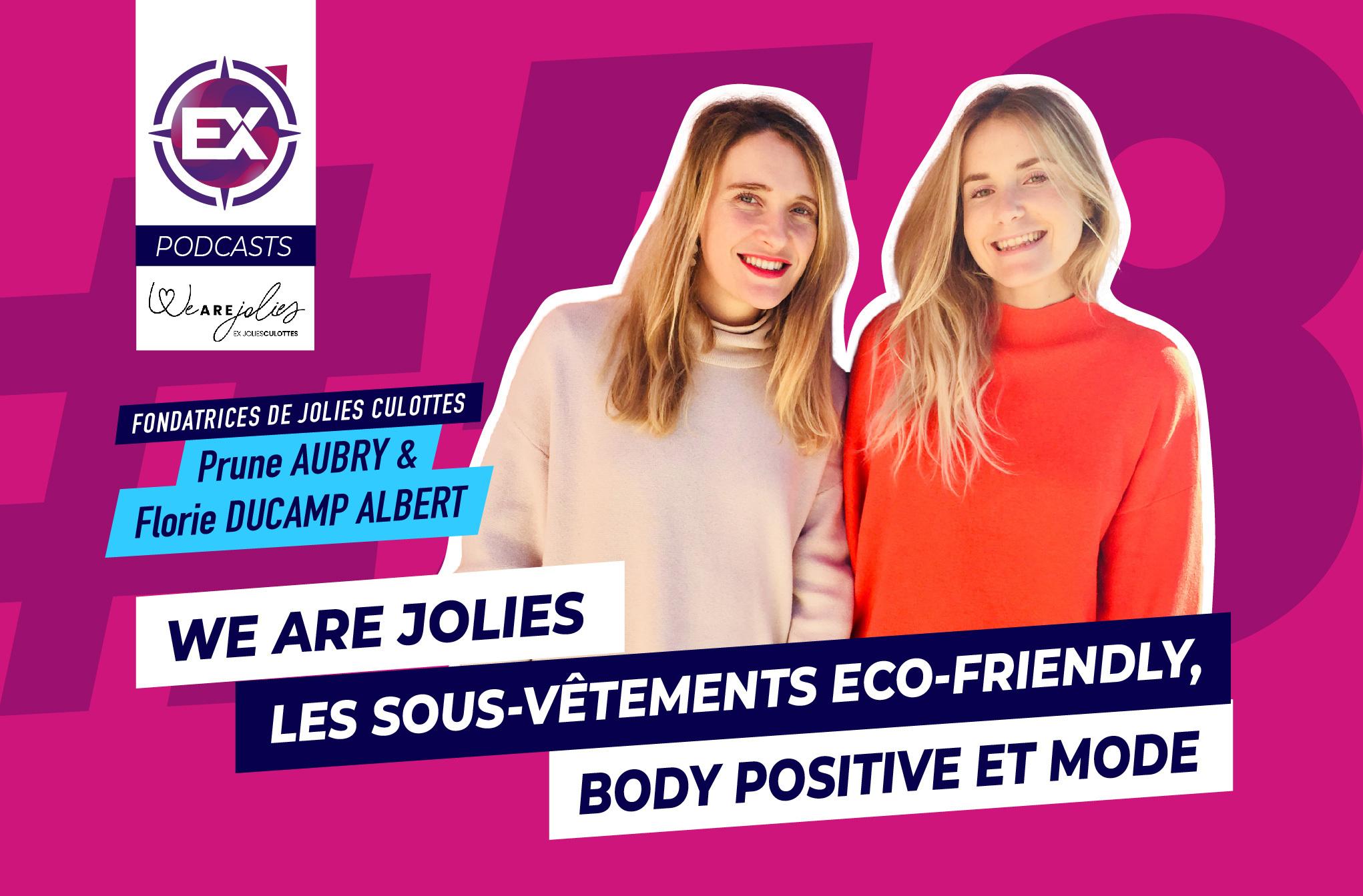 We are Jolies (ex Jolies Culottes) : Les sous-vêtements eco-friendly, body positive et mode